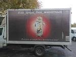 >Соцреклама на грузовиках «За цирк без животных!» в России (ВИДЕО)