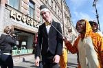 17 апреля в Санкт-Петербурге состоялась акция «ЗА цирк БЕЗ животных»  в рамках Международного Дня цирка и Всероссийской кампании за запрет использования животных в цирках