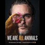 «Мы все животные»: голливудская звезда вега́н Хоакин Феникс в соцрекламе PETA на Таймс-сквер