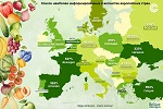 >Список наиболее информированных о вега́нстве европейских стран