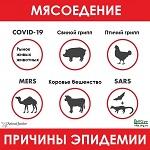 >Причина эпидемии - мясоедение. Количество предупреждений Земли исчерпаемо.          border=