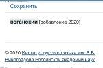 """В словарь русского языка добавили 675 новых слов, среди которых - """"вега́н"""""""