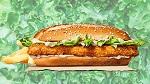 >Бургер Кинг запустил новый веганский бургер без курицы и растительный воппер